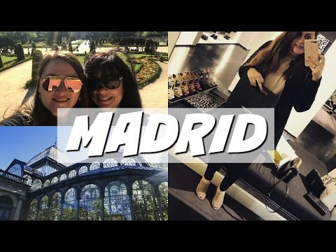 Europe Vlog Part 1 - Madrid, Lost Baggage, New Bag Reveal & Retiro Park