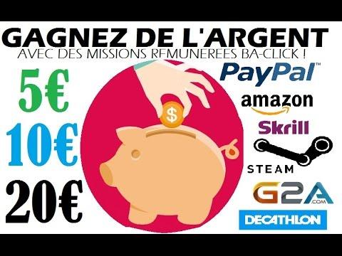 Gain D'Argent : Etre Riche  Rapidement Sur Internet (2020)