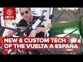 New & Custom Tech From The 2018 Vuelta a España