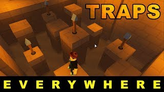 This Temple Is Full of TRAPS - Temple Thieves Medium Mode - Roblox