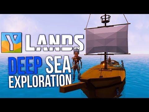 Ylands - CRAZY WINTER SEA STORM! - Exploring The Seas - Ylands Multiplayer Gameplay