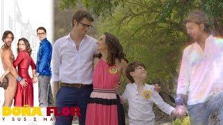 Doña Flor y sus 2 maridos - Capítulo 65: ¡Valentín logra que Teo regrese a la vida! | Televisa