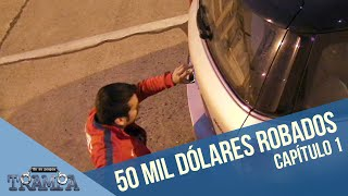 ¡A Pancho Saavedra le roban 50 mil dólares! | En su propia trampa