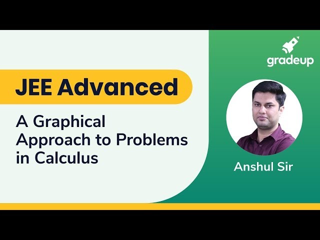 JEE Advanced 2019 | A Graphical Approach to Problems in Calculus