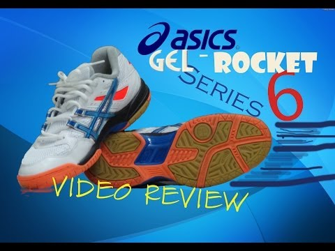 ASICS GEL Rocket 6 Series Badminton Shoes Unboxing