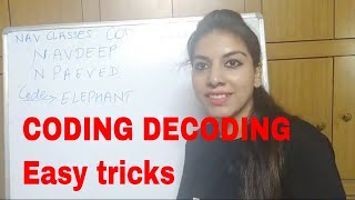 Coding Decoding Reasoning CBSE UGC NET and All Exams
