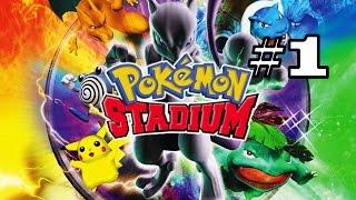 [FR] Pokémon Stadium - Let's Play épisode 1 : Arène D'Argenta.