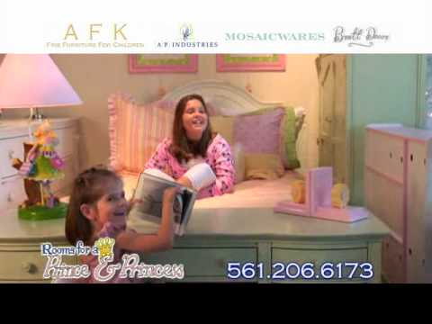 Rooms For A Prince And Princess Rppkidscom Commercial Wmv Youtube