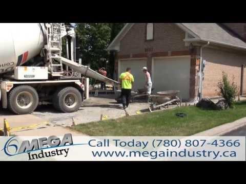 Concrete Driveway Installation Calgary Canada