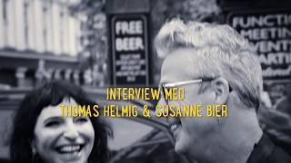 Susanne Bier & Thomas Helmig om musicalen Den Skaldede Frisør