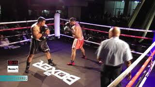 Fight 10: Semisi Kalu vs Dalragnar Robatison | CTP Boxing's BBQ Fight Night | Auckland | 18Aug18