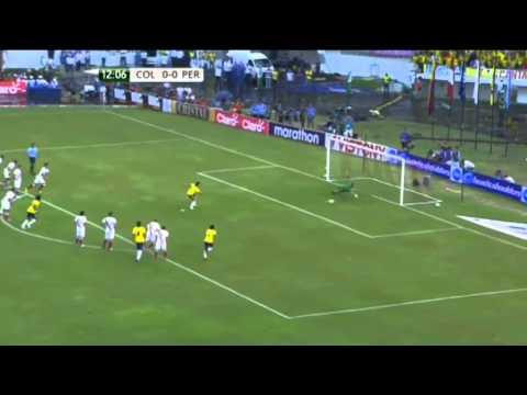 Colombia vs Peru - World Cup qualifier