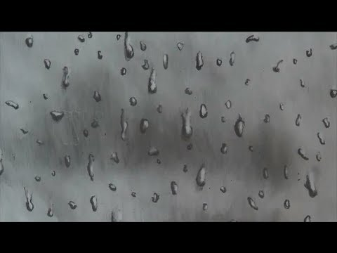 Drawing Water Drops on a Window
