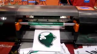 Audley digital hot foil stamping machine ADL-330B printing effect.flv