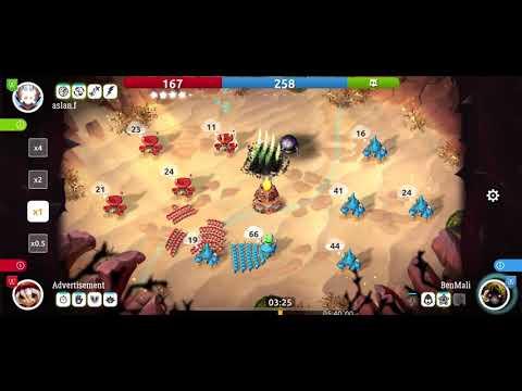 Huge defensive play - Mushroom Wars 2 |