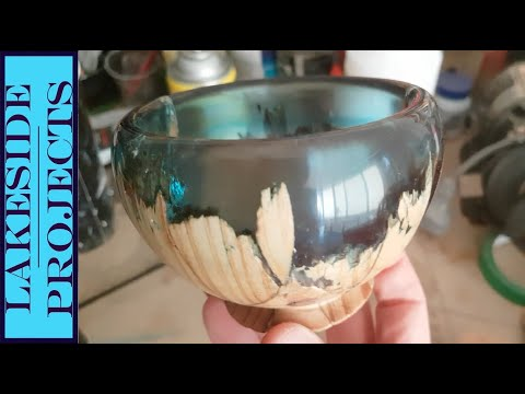 I Made This - Resin Secret Wood Bowl // Project Build