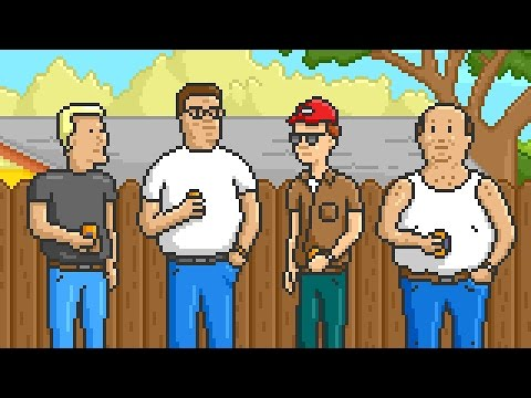 King of the Hill in Pixels