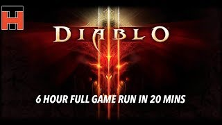 Diablo 3 - Full Game Run - Wizard