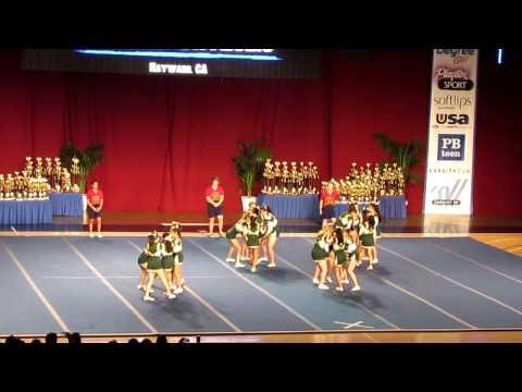 Moreau Catholic High School Varsity Cheer 2012