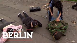 Gefährlicher Polizeieinsatz: Jugendliche mit scharfen Schusswaffen! |Auf Streife - Berlin | SAT.1 TV
