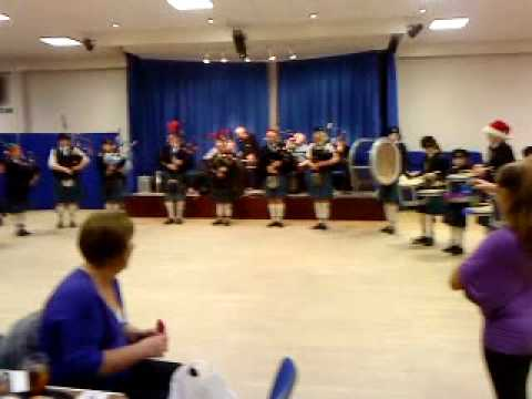 Pipe Band, Bonnie Galloway set.MP4