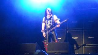 VENOM LIVE-BLACK METAL-LEAVE ME IN HELL-BYH 2012
