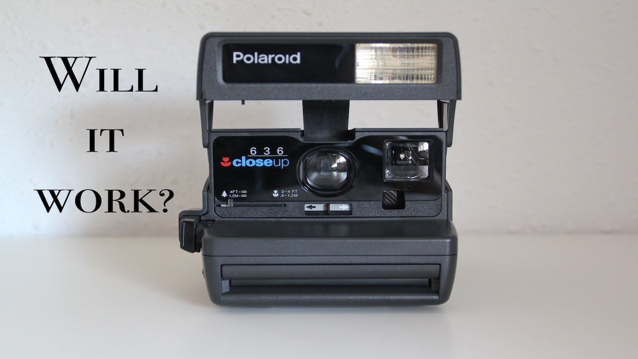 Polaroid 636 closeup. Ностальгия №4. - YouTube