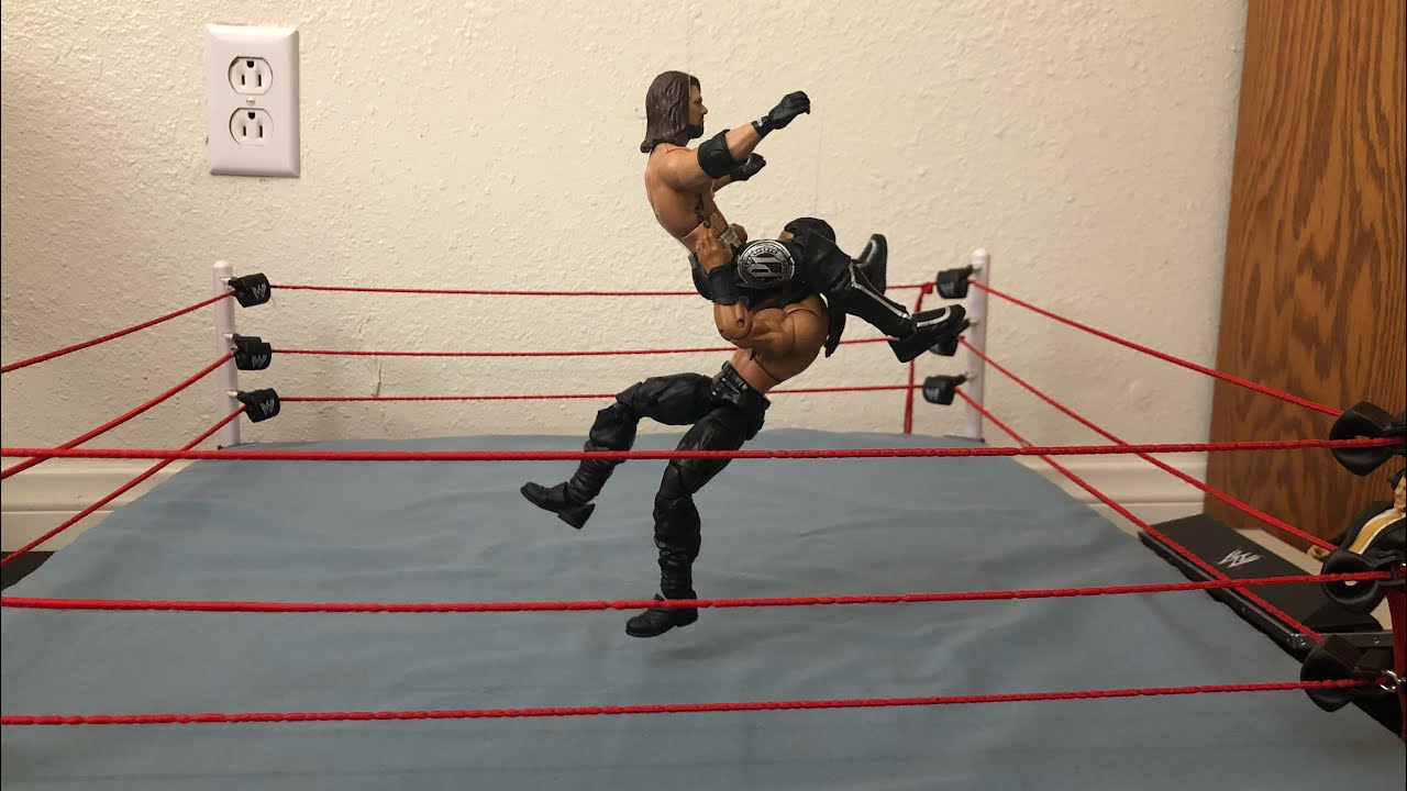 The Best 4 Powerbomb Variations! (WWE Stop Motion)