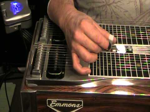 Paul Sutherland:  E9 steel guitar instruction:  Intro to Palm Blocking