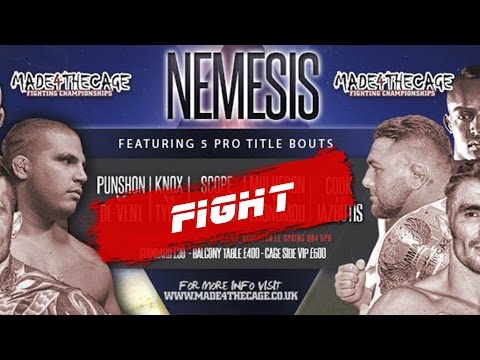 Made 4 the Cage 13 - Nemesis - Antanas Jazbutis VS Paul Cook