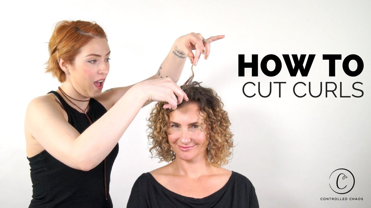 The Best Way To Cut Curly Hair Youtube