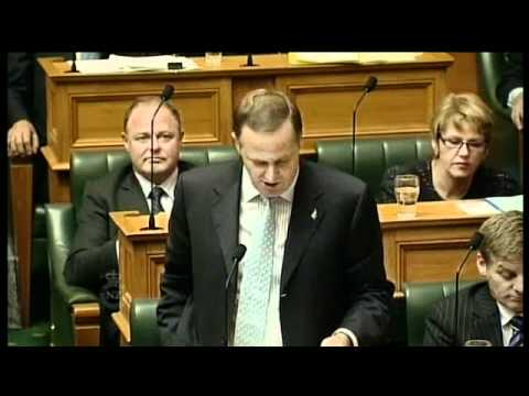 10.5.11 - Question 10: Hon Pete Hodgson to the Prime Minister