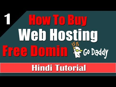 How To Buy Web Hosting And Free Domin From Godaddy Tutorial-1 [desimesikho]