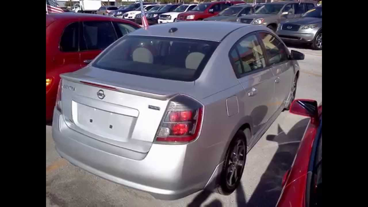 2012 nissan sentra special edition navigation sun roof xm radio warranty available [ 1280 x 720 Pixel ]