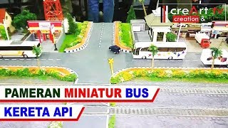 Video Pameran Miniatur Bus & Diorama Kereta Api Mini RC Bus & Truck download MP3, 3GP, MP4, WEBM, AVI, FLV Oktober 2018