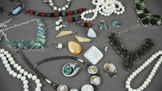 Мои украшения: Жемчуг, Перламутр и Лунные камни (Лабрадор, Селенит, Беломорит)