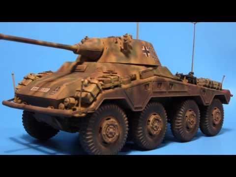 Sd.Kfz 234/2 Puma & Panzer IV Ausf. D