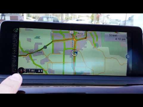 BMW Navigation Volume Adjustment