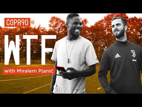 Juve's Pjanić Rates His Top Free Kick Takers | WTF