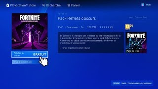 FORTNITE HOW TO GET THE NEW DARK REFLECTIONS PACK