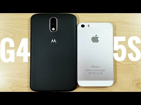 Moto G4 vs iPhone 5S