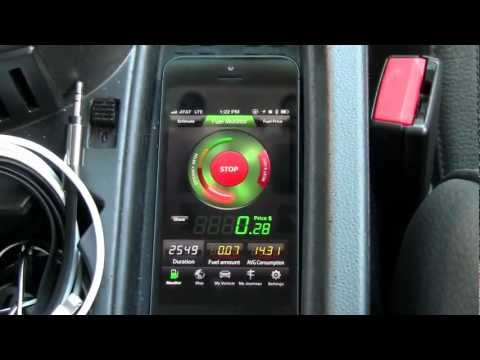 Fuel Monitor IPhone App Review