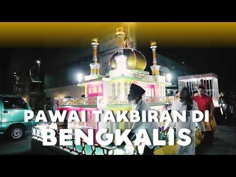 Suasana Pawai Takbiran Idul Fitri 1439 H Di Bengkalis Riau - DAVLOG 16
