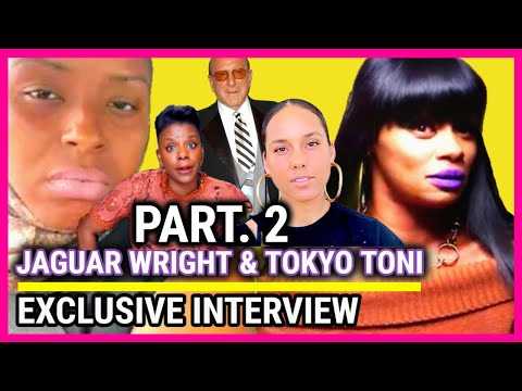 JAGUAR WRIGHT & TOKYO TONI, IS TASHA K A PUPPET FOR ALICIA KEYS AND CLIVE DAVIS  (PART. 2)