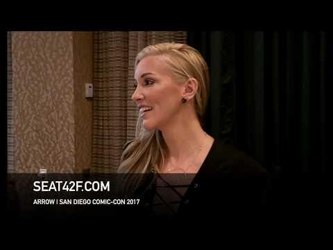 Katie Cassidy ARROW  Comic Con HD