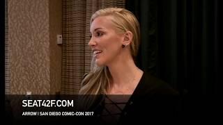 Katie Cassidy ARROW Interview Comic Con HD Top 10 Video