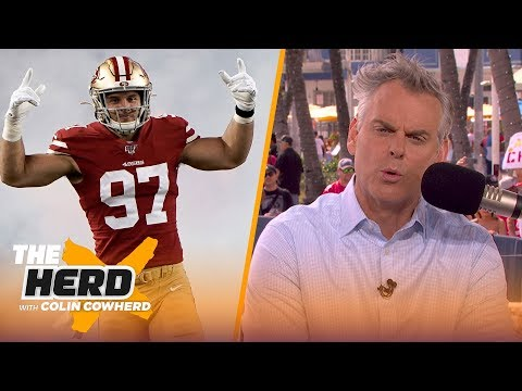 Colin makes his Super Bowl pick, says he likes what he saw from Baker   THE HERD   LIVE FROM MIAMI