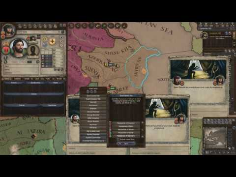 Crusader Kings 2 Ironman Timelapse, From Duke of Zunbil to Emperor of the Sun (Zunist Run) 7/7