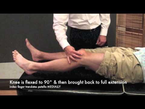moving patellar apprehension test cr youtube. Black Bedroom Furniture Sets. Home Design Ideas