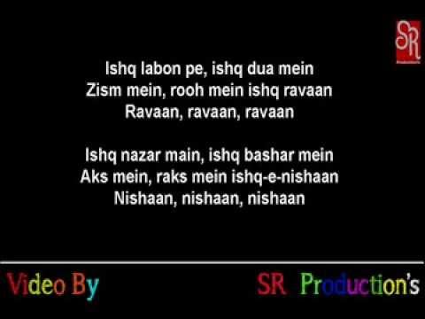 Dum Malang Lyrics Dhoom 3 Youtube